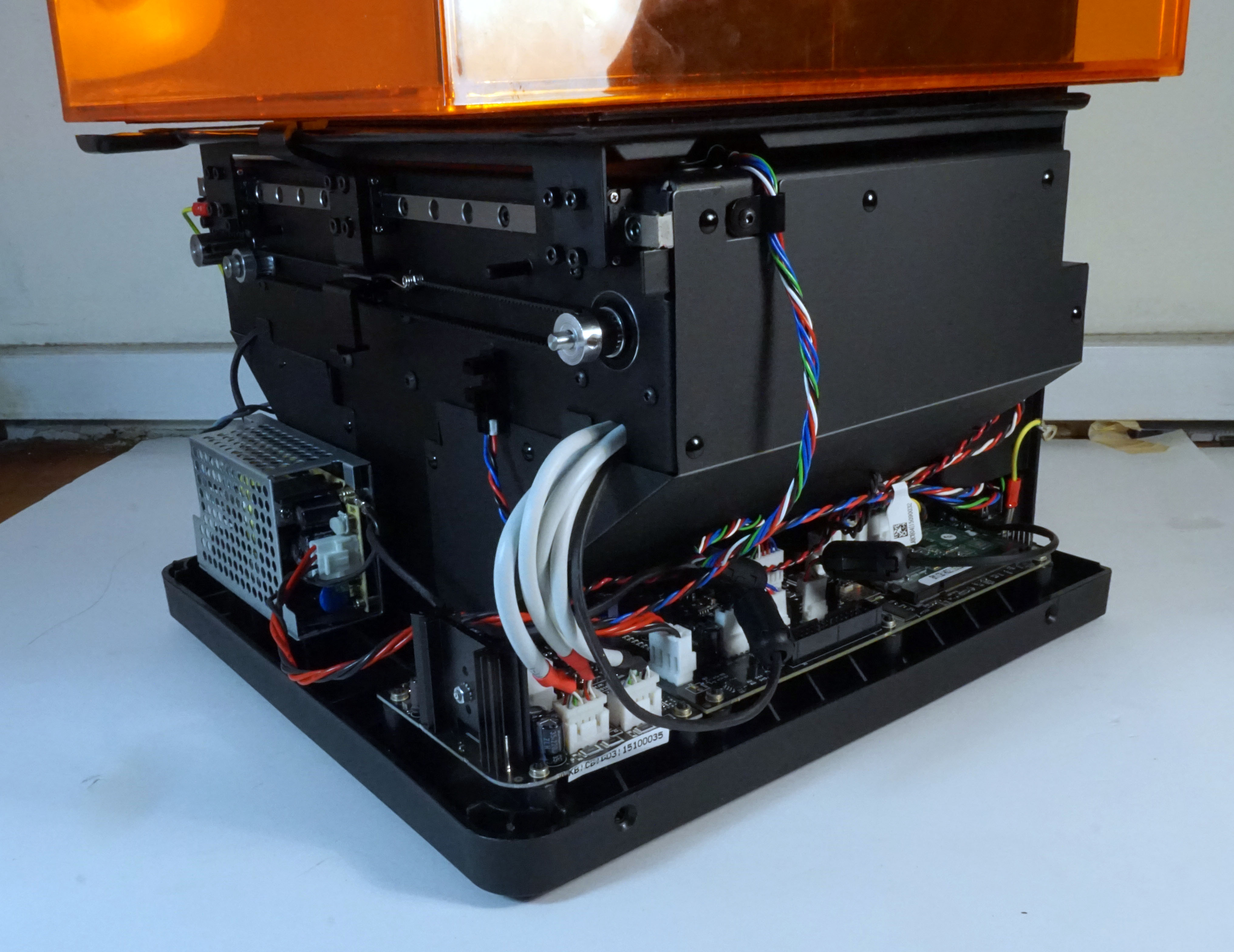 Formlabs Form 2 Teardown Bunnies Blog Wire On Installing Outdoor Electrical Wiring Thumbnail Not Exciting No Crappy Philips Or Slotted Screws Here They Also Make Extensive Use Of Socket Cap Style Which Is A Perennial Favorite Mine