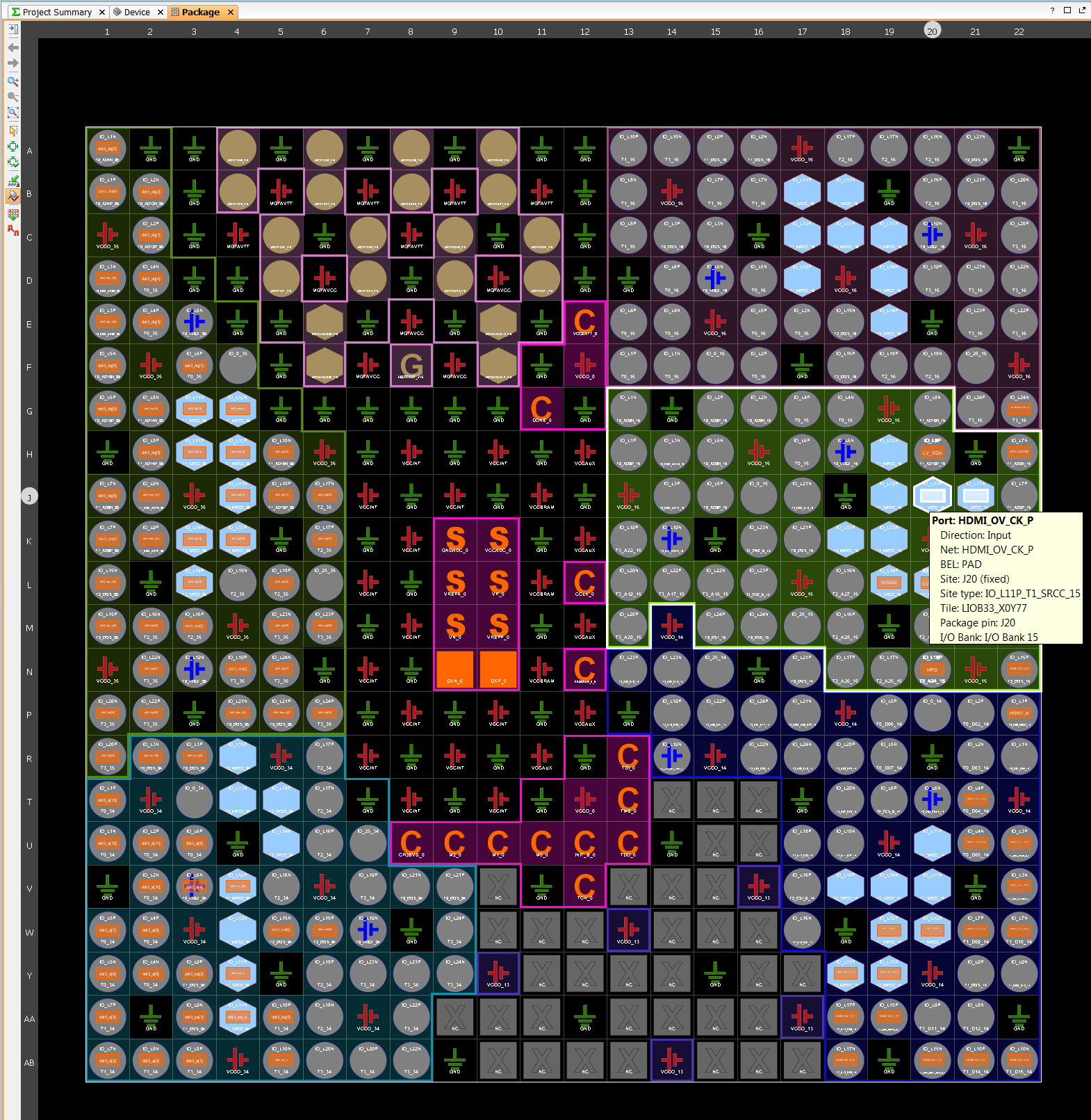Fpga Bunnies Blog Reclaimed Circuit Board Mouse Pad Layout Planning In Vivado Is Aided By A Gui